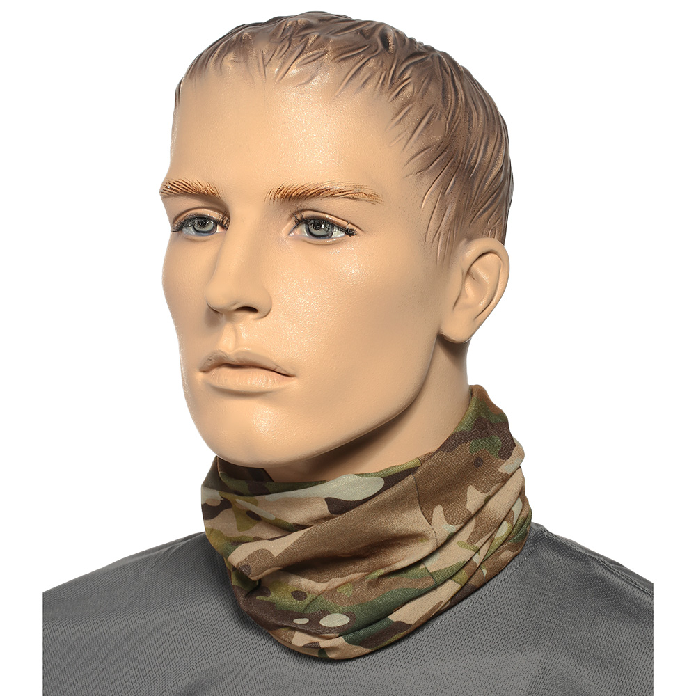 Brandit Herren Multifunktionstuch Tactical Camo 3
