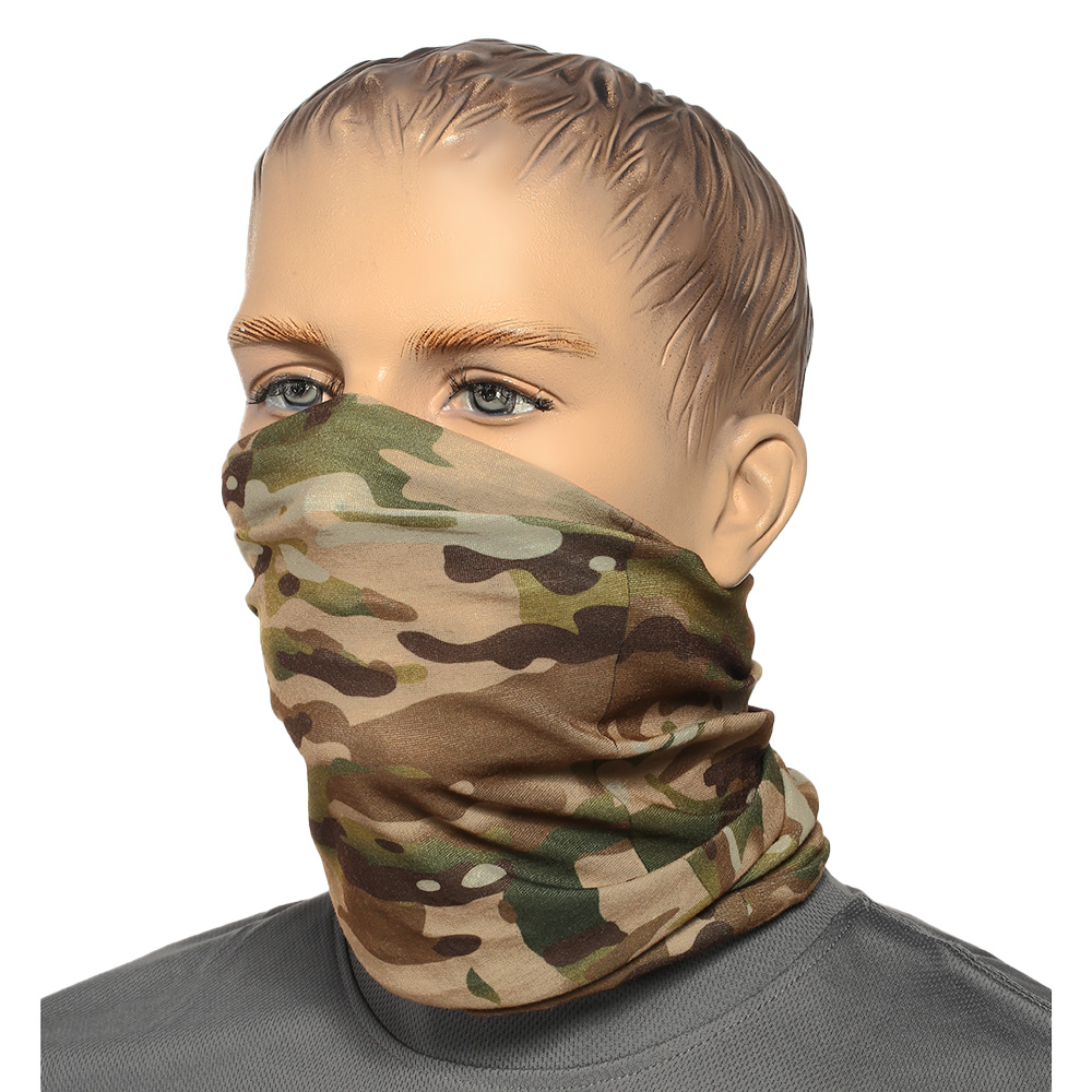 Brandit Herren Multifunktionstuch Tactical Camo 4