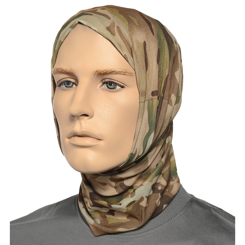 Brandit Herren Multifunktionstuch Tactical Camo 7