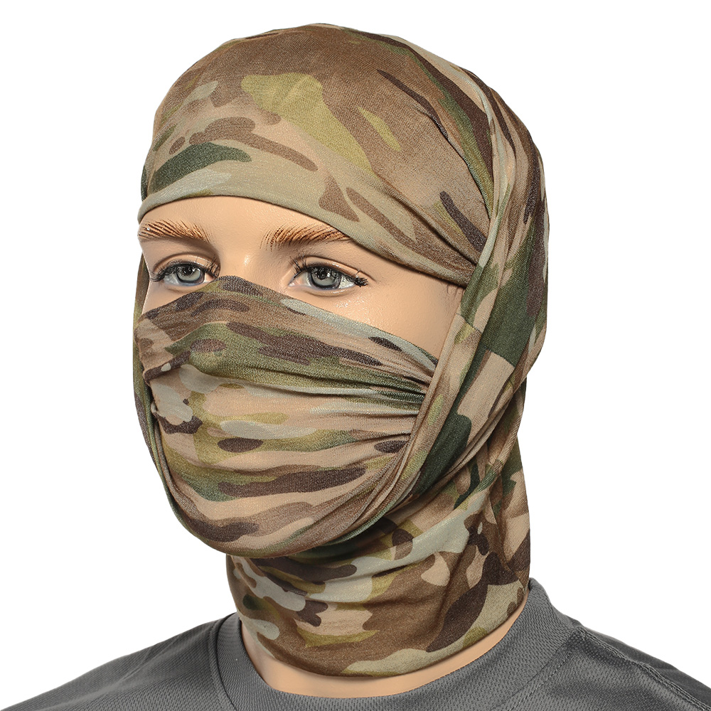 Brandit Herren Multifunktionstuch Tactical Camo 8