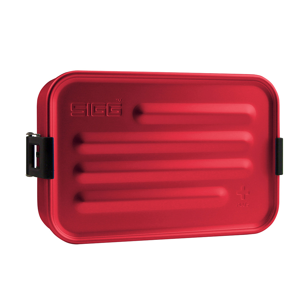 SIGG Metall Box Plus S rot Food Box 0