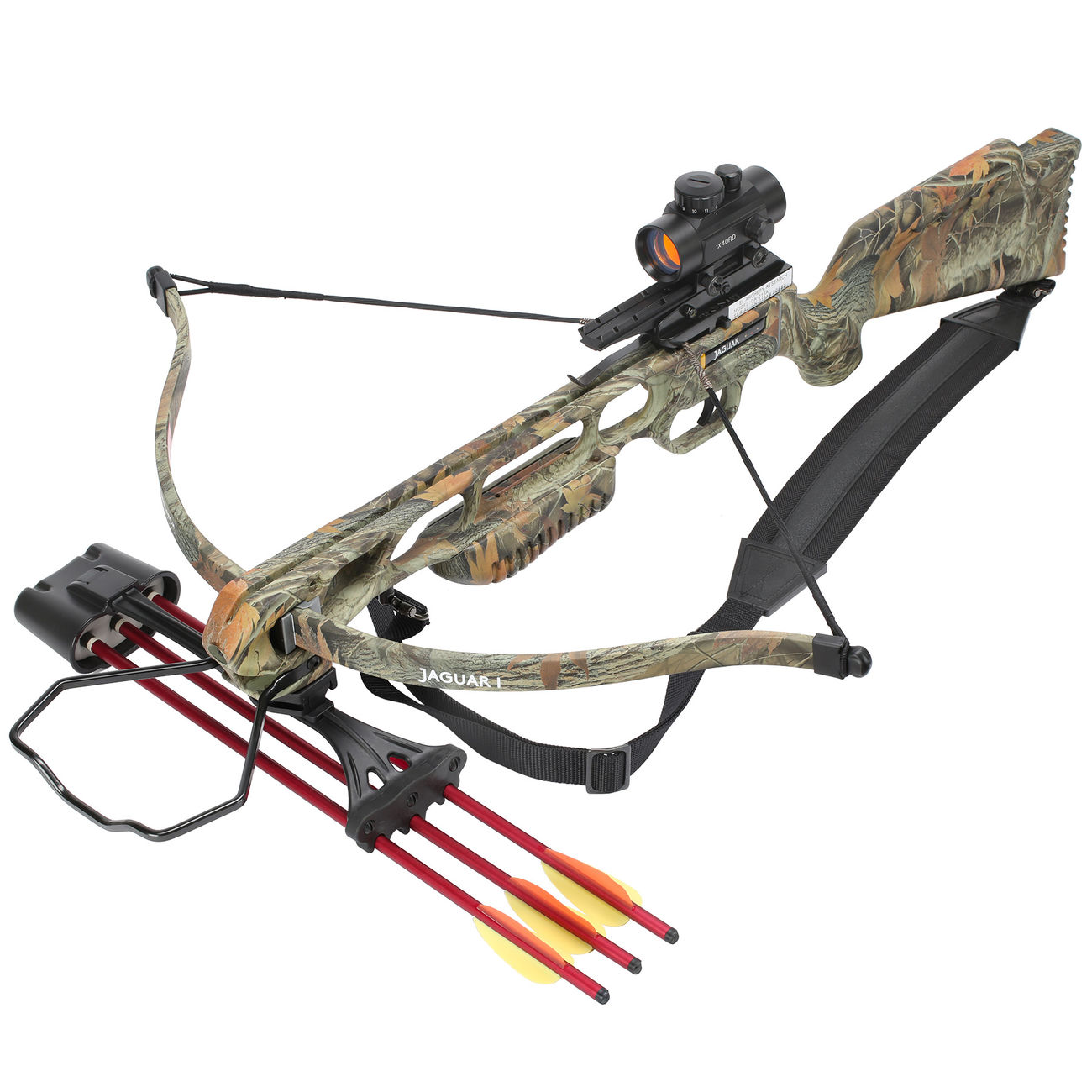 armbrust jaguar recurve 175 lbs wood camo komplettset inkl. Black Bedroom Furniture Sets. Home Design Ideas