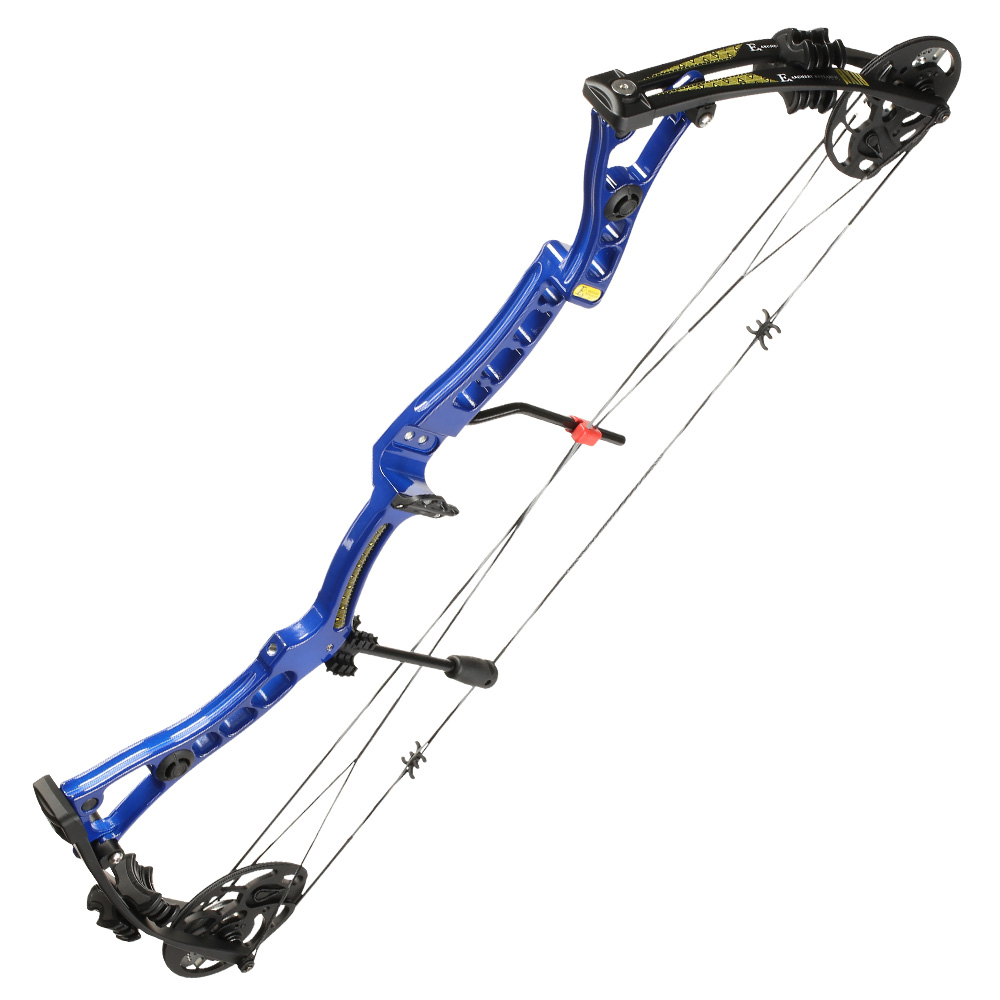 EK Axis Compoundbogen 30-70lbs blau 2