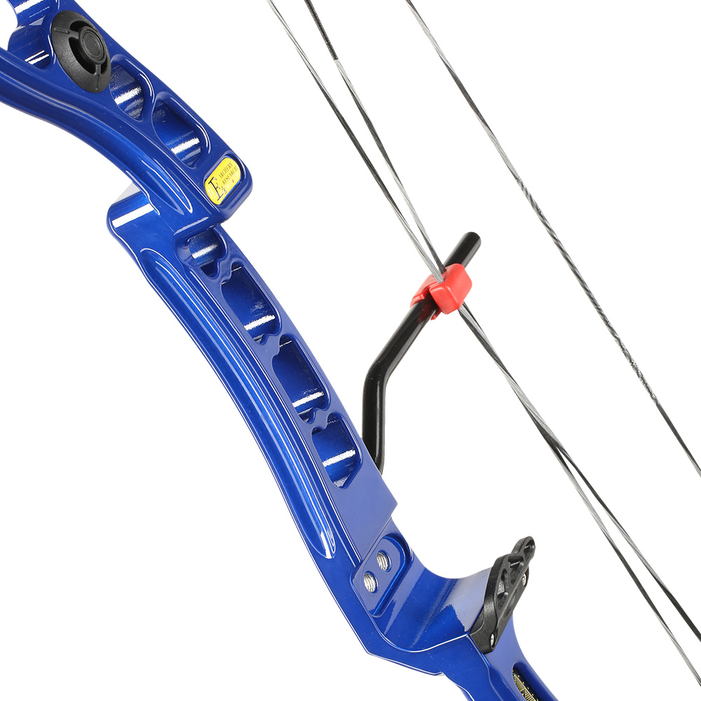 EK Axis Compoundbogen 30-70lbs blau 3