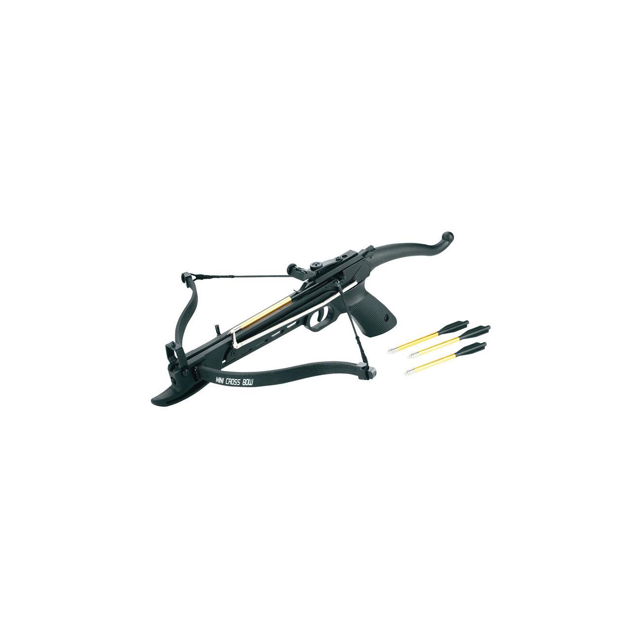 Pistolenarmbrust Cobra 80lbs Kunststoffrahmen schwarz günstig kaufen ...