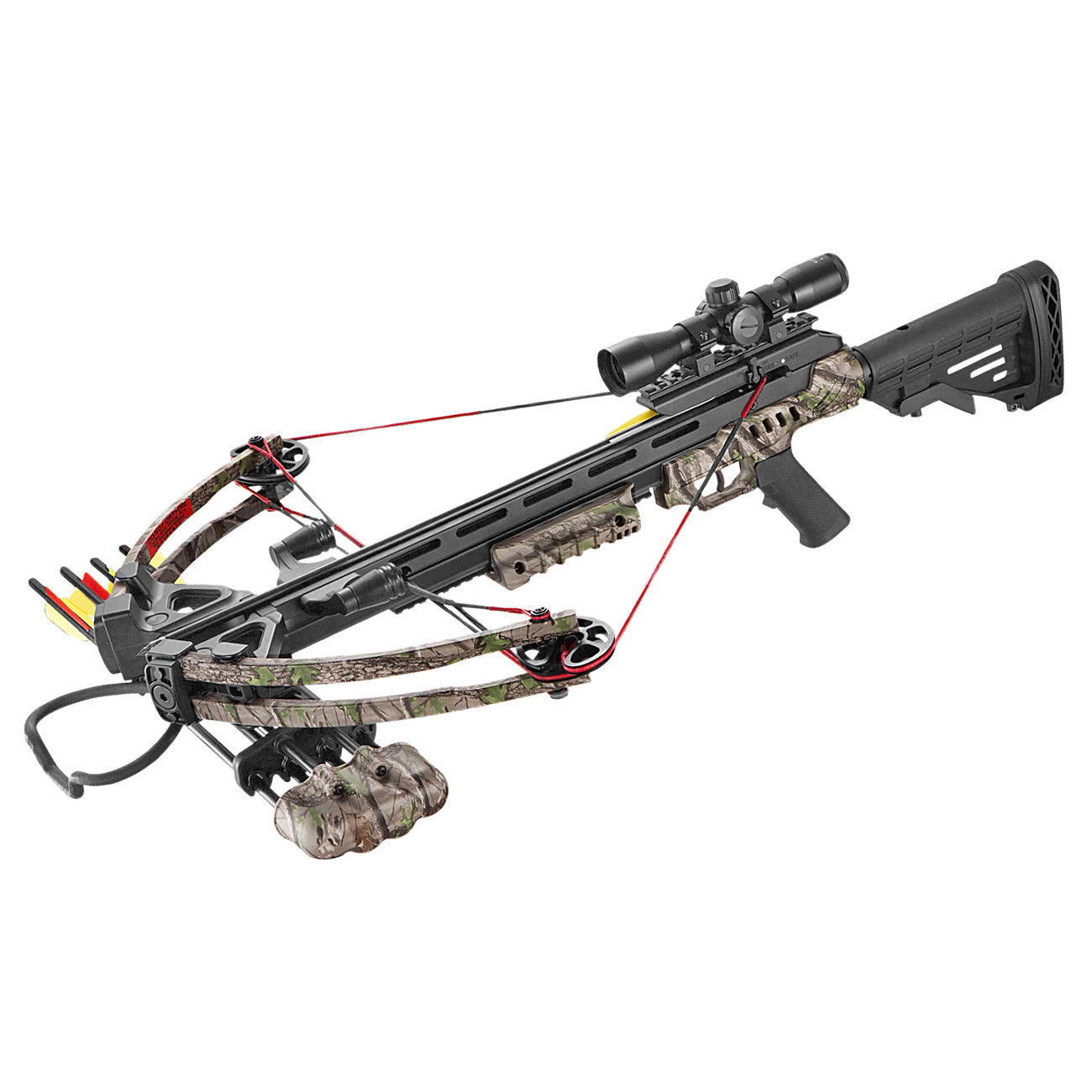 MK Compound Armbrust Falcon XB52 Komplettset 185 lbs Green Camo 0