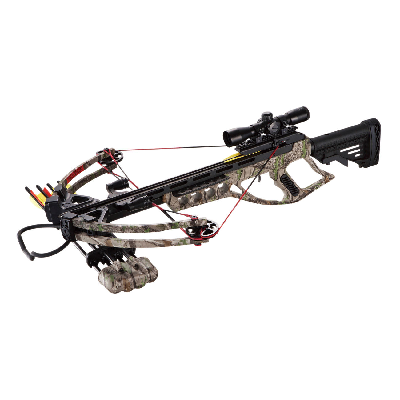 MK Compound Armbrust Goliath Komplettset 185 lbs Green Camo 1