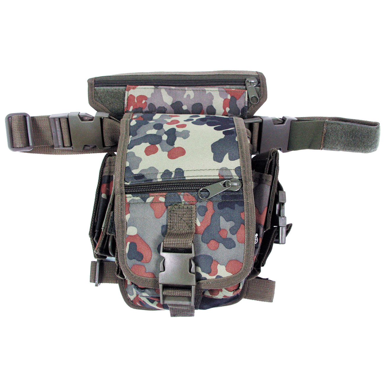 Hip Bag Security, flecktarn 0
