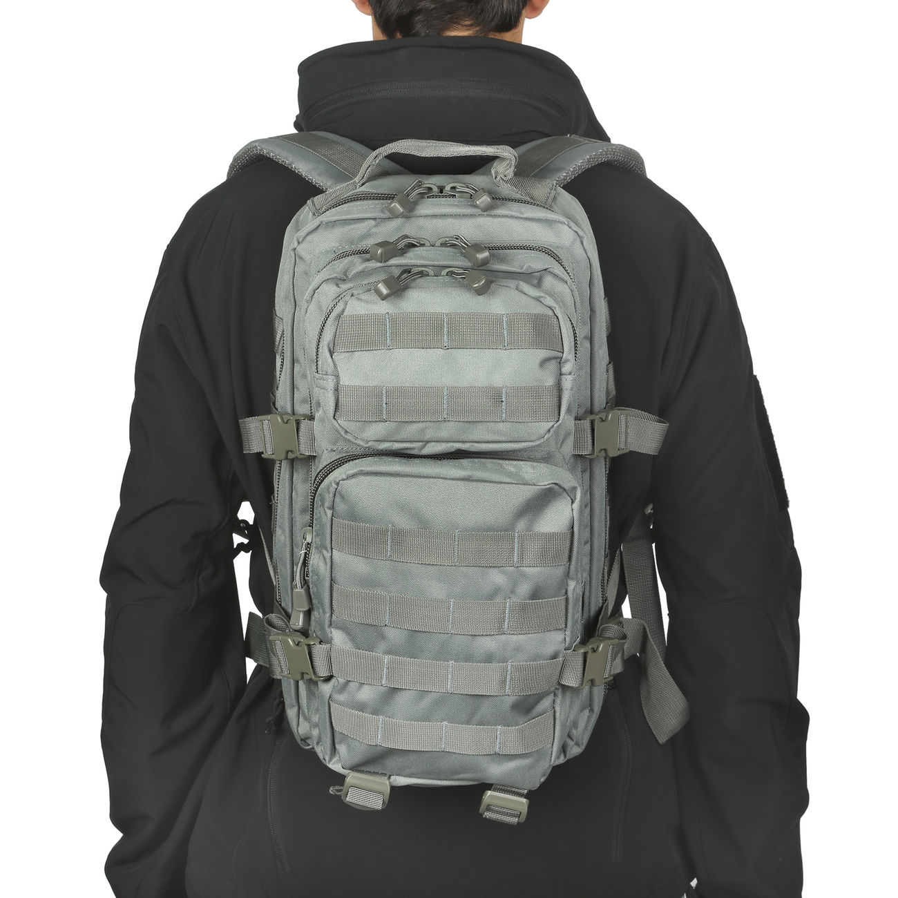 Mil-Tec Rucksack US Assault Pack I 20 Liter foliage 4