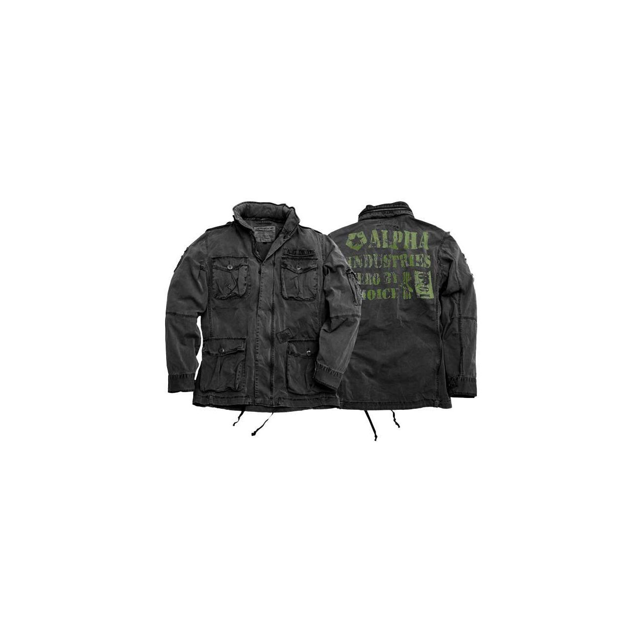 info for 70cdd a8ee1 Jacke Arlington Alpha Industries, schwarz