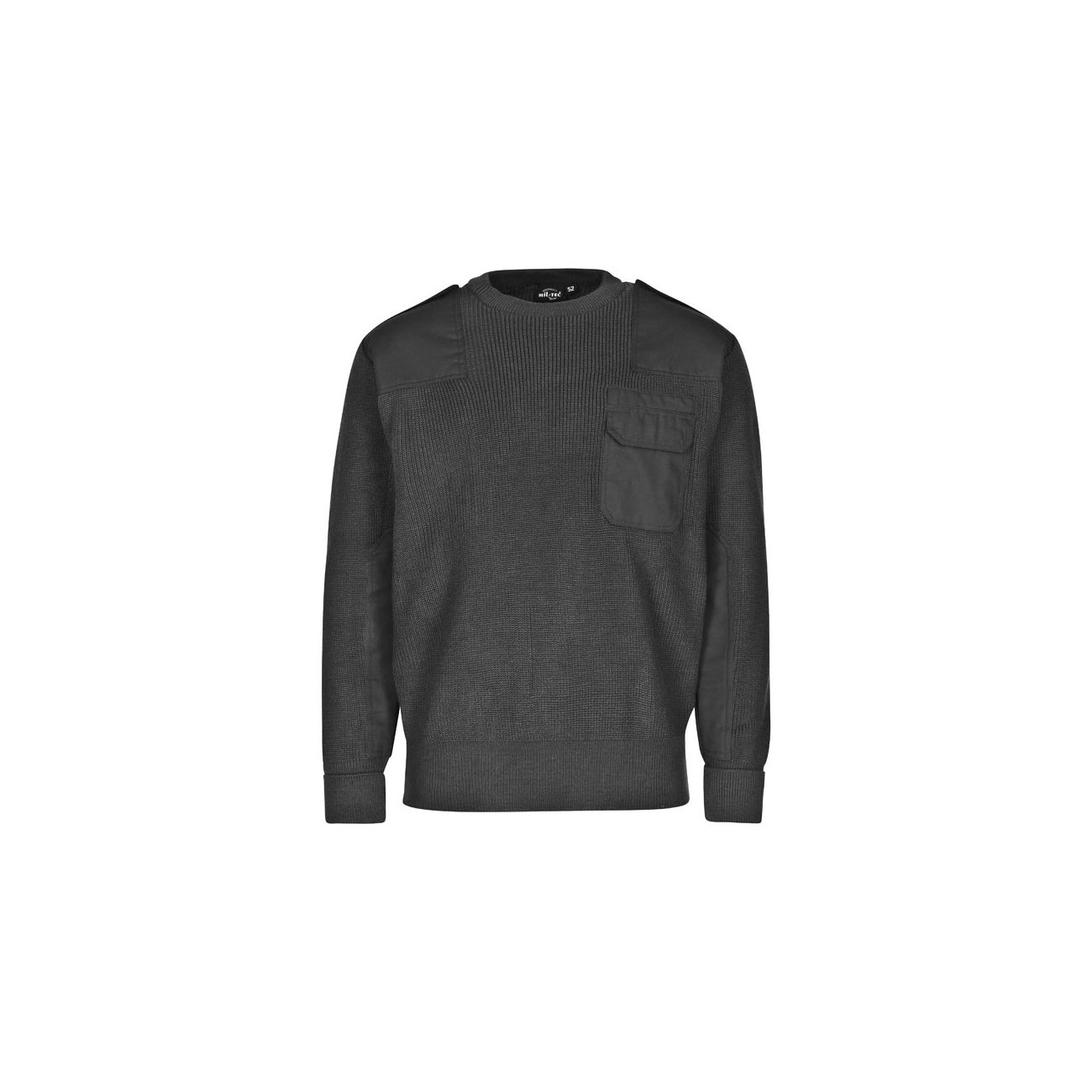 Mil-Tec Pullover BW-Style schwarz 2