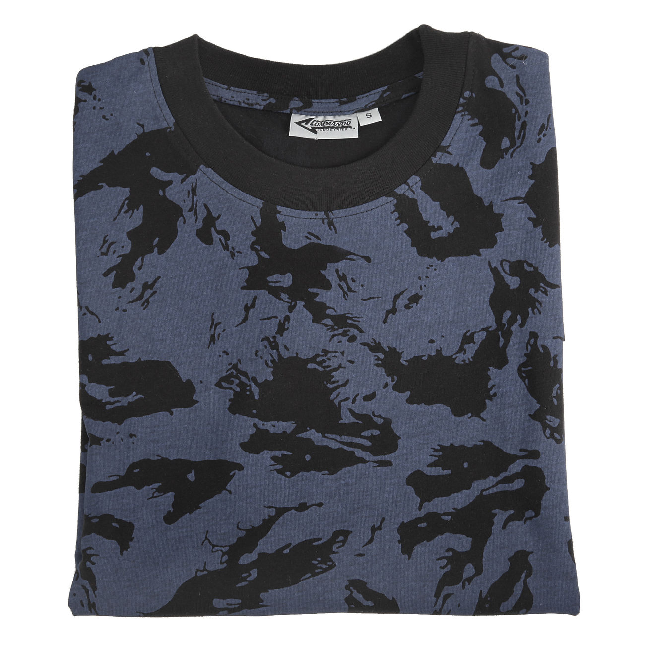T-Shirt, Russian blue camo 1