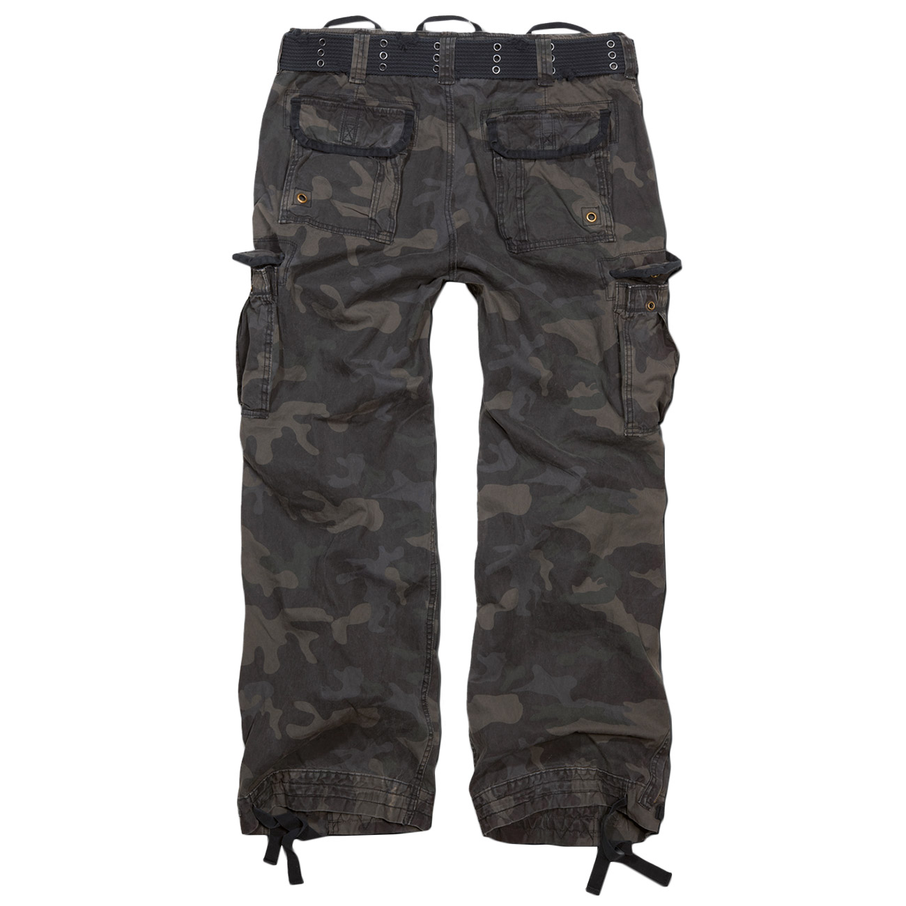 Brandit Cargohose Royal Vintage Trousers darkcamo 1