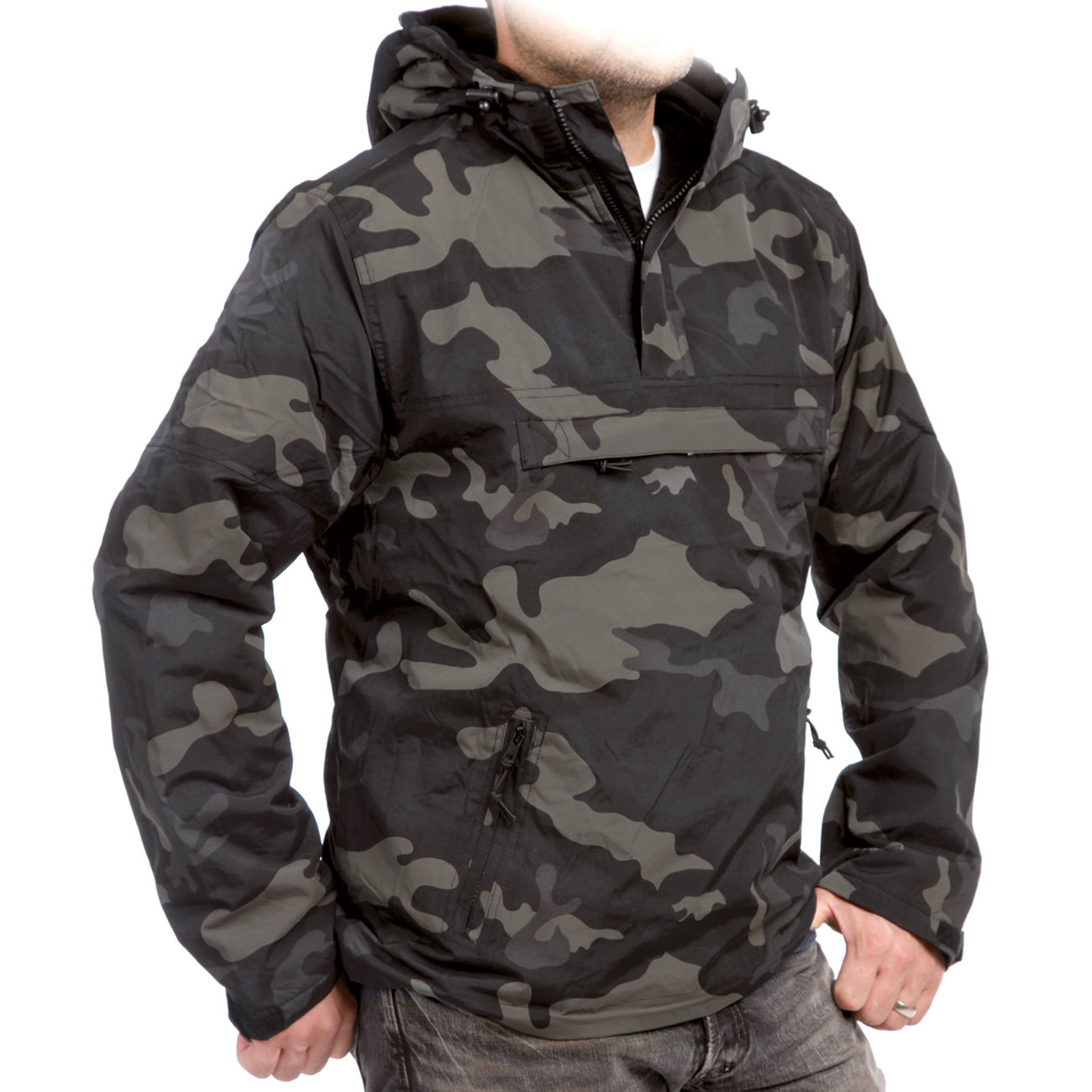 Brandit Windbreaker, darkcamo 2
