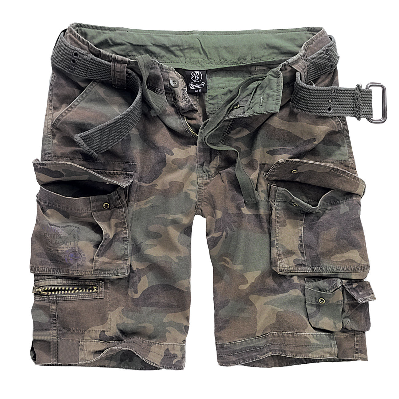 Brandit Savage Vintage Shorts woodland 0