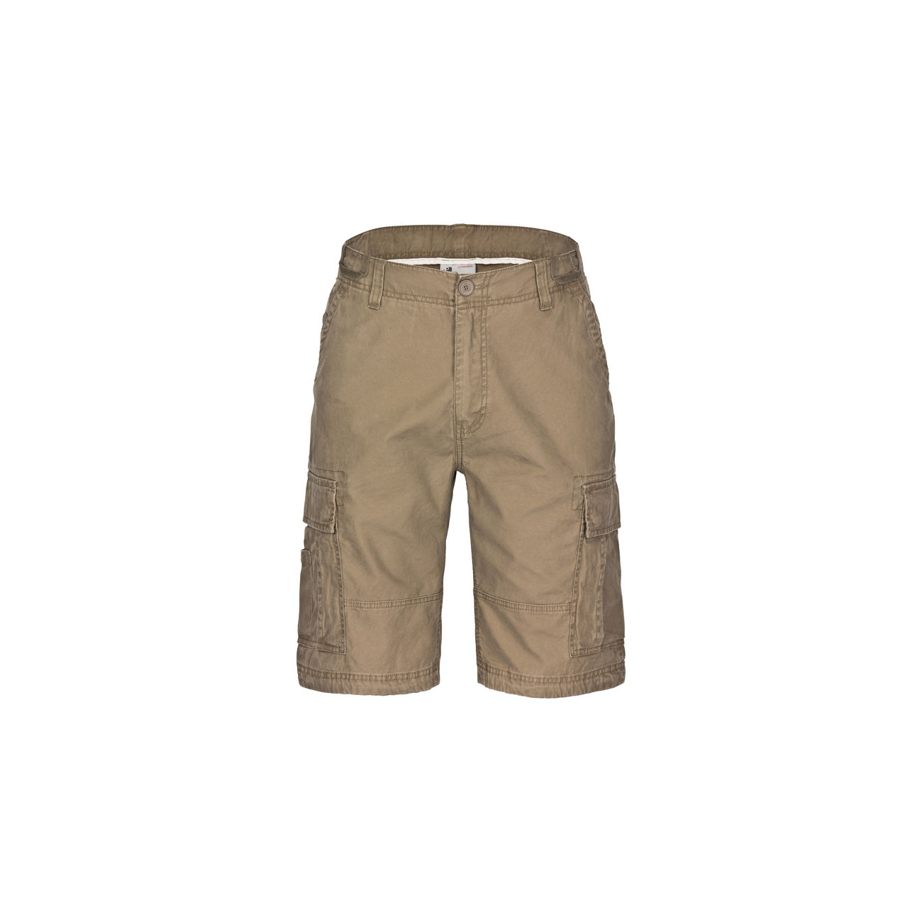 Vintage Industries Batten Shorts dark khaki 0