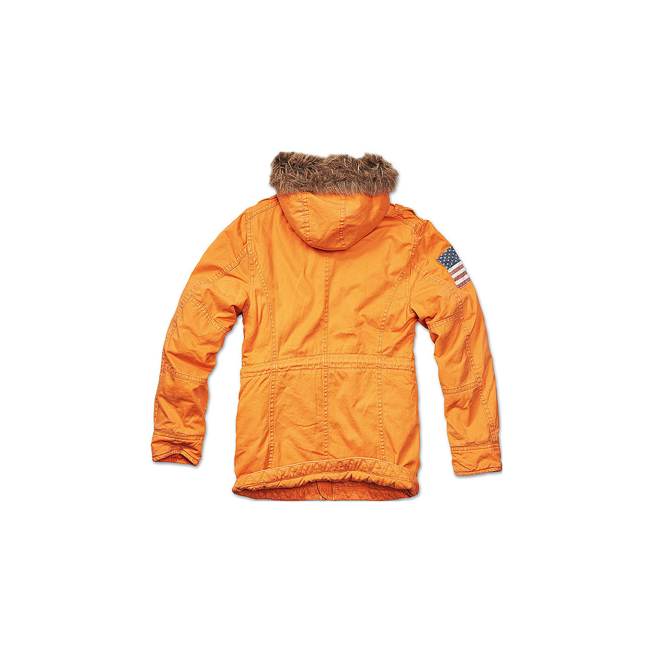 Brandit Jacke Vintage Explorer Stars & Stripes orange 1