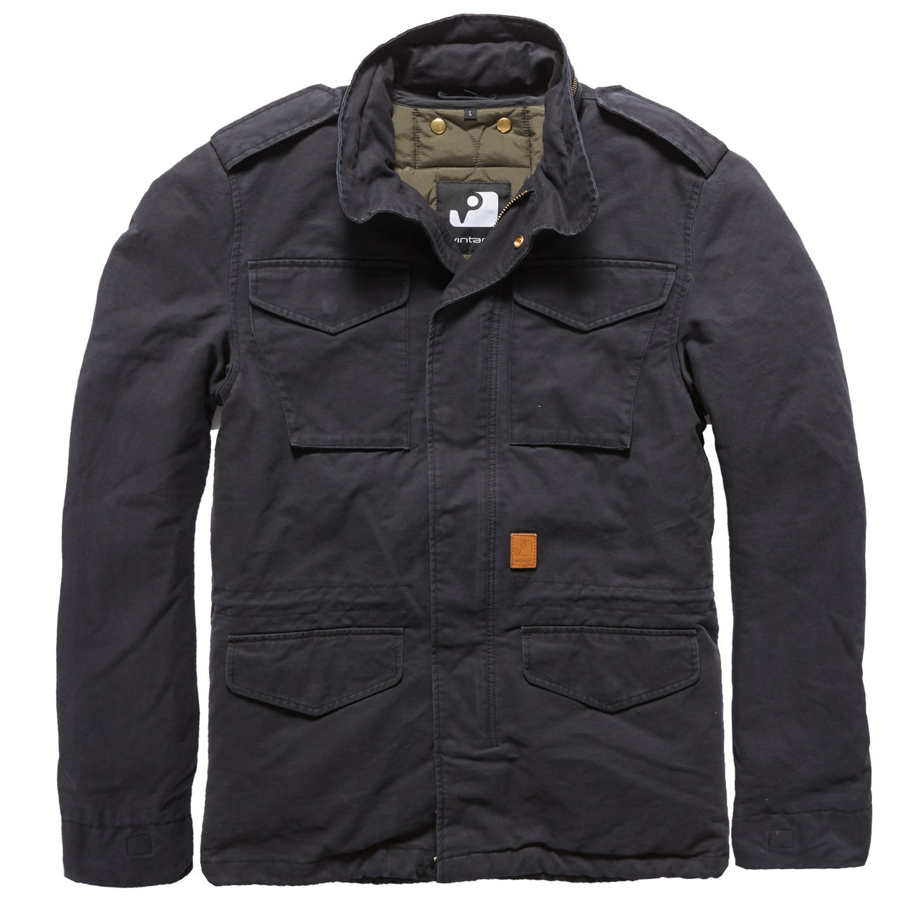 Vintage Off Jacke Industries M65 Black Dave Schwarz wOP08nkX