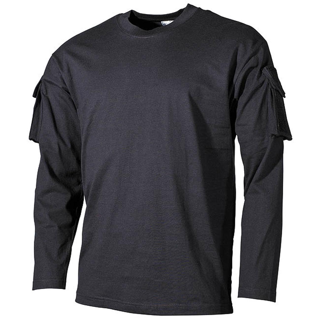 78a8288e87a59e MFH Langarmshirts US schwarz günstig kaufen - Kotte & Zeller