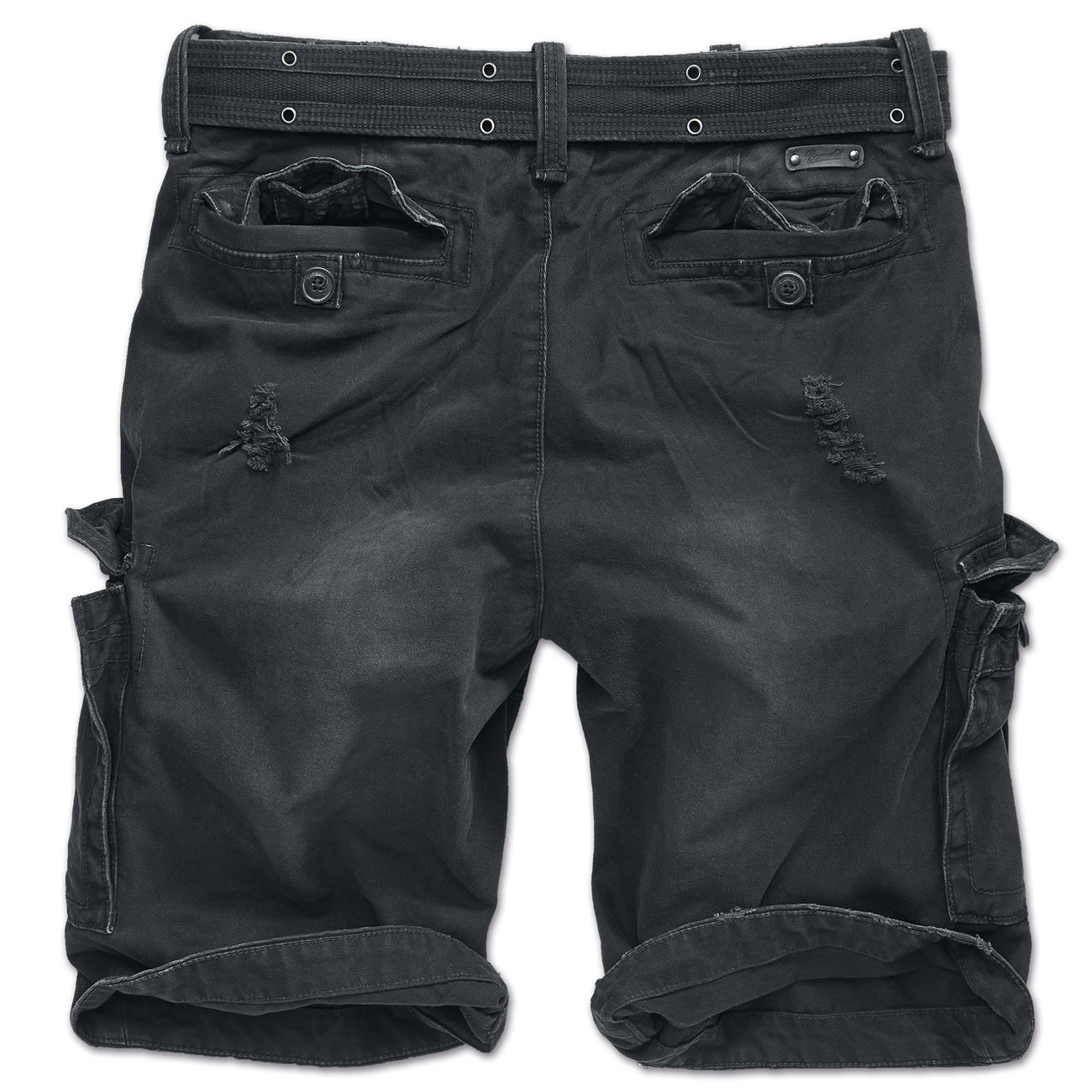 Brandit Shorts Shell Valley heavy schwarz 1