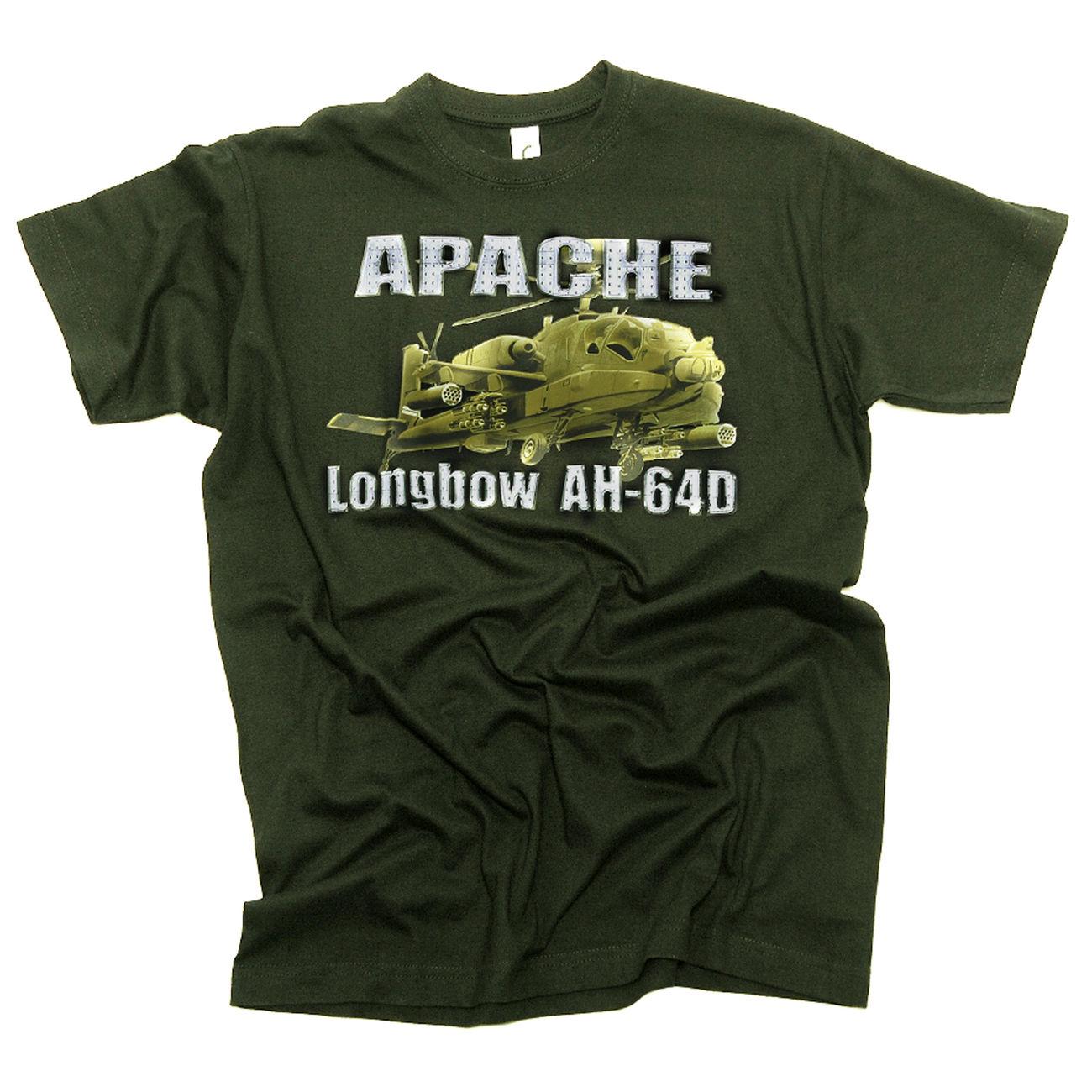 453af7751671b Sol s Imperial T-Shirt Apache Longbow AH-64D oliv günstig kaufen ...
