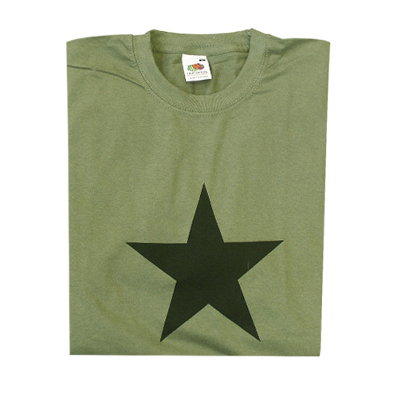 T-Shirt Black Star oliv 0