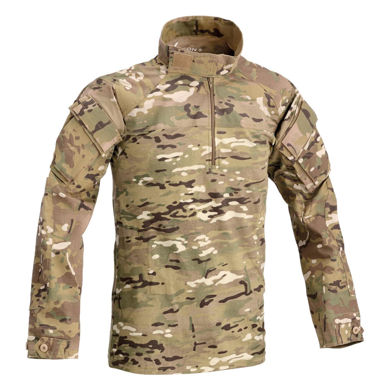 new arrival 6e355 42049 Defcon 5 Cool Combat Shirt multi camo