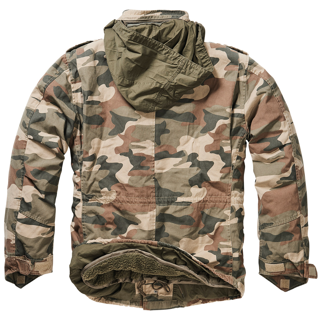 Brandit M65 Jacke Giant light woodland 1