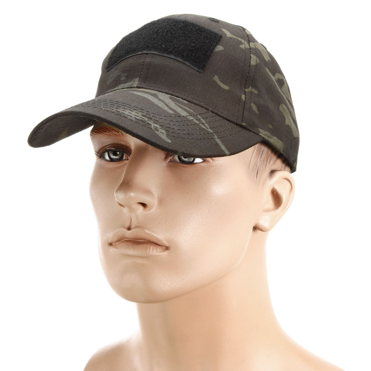 Mil-Tec Tactical Baseball Cap Multitarn Black 0