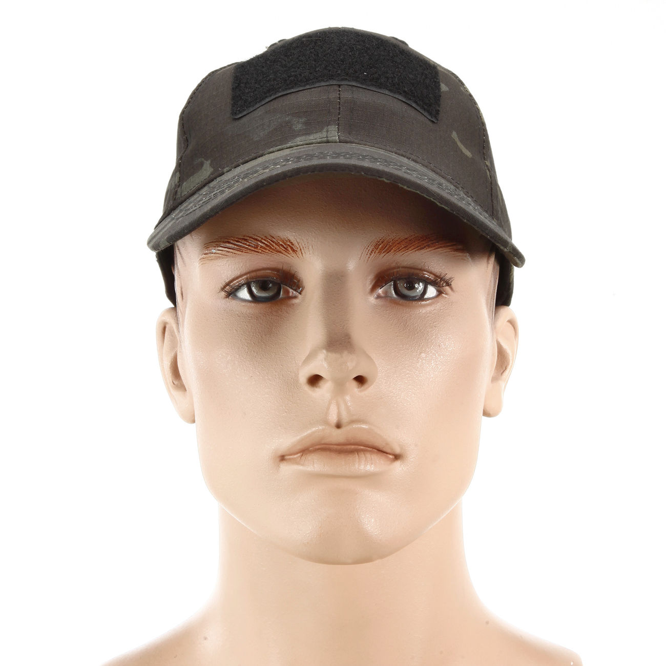 Mil-Tec Tactical Baseball Cap Multitarn Black 1