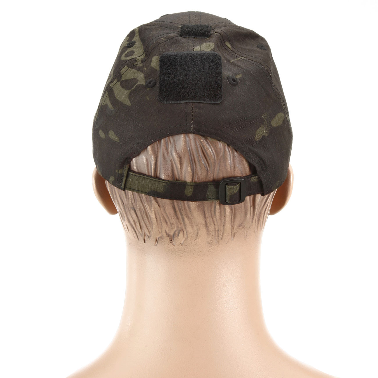 Mil-Tec Tactical Baseball Cap Multitarn Black 2