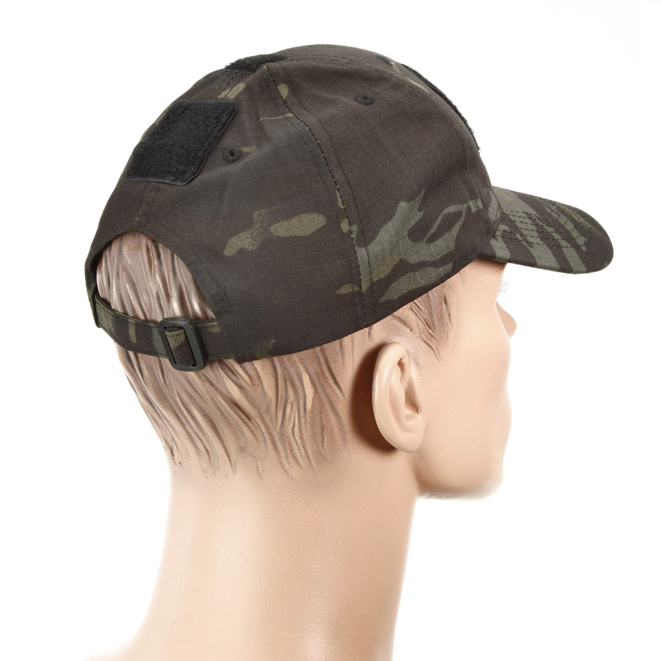 Mil-Tec Tactical Baseball Cap Multitarn Black 3