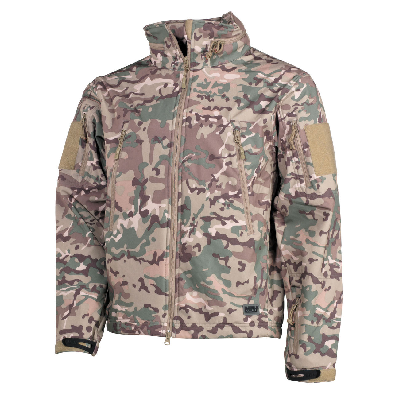 softshell jacke camouflage