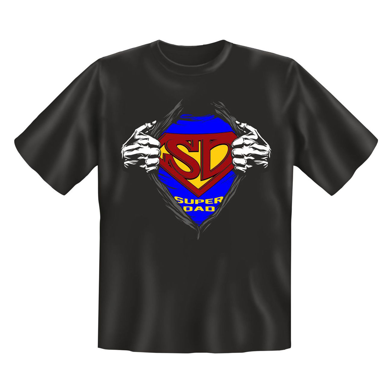 Rahmenlos T-Shirt Super Dad 0