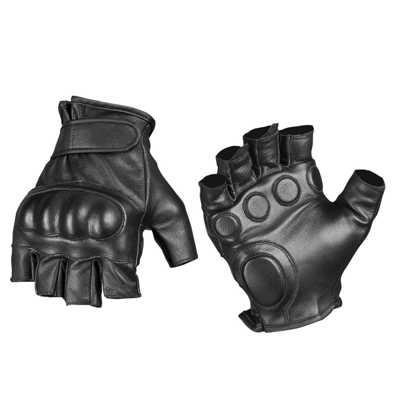 Mil-Tec Tactical Fingerlinge Leder schwarz 0