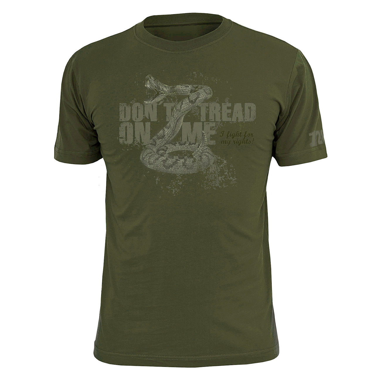 720gear T-Shirt Don´t Tread On Me 0