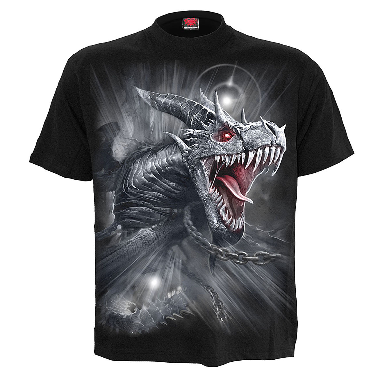 Spiral T-Shirt Dragon´s Cry schwarz 0