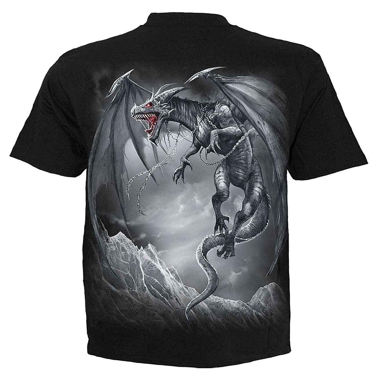 Spiral T-Shirt Dragon´s Cry schwarz 1