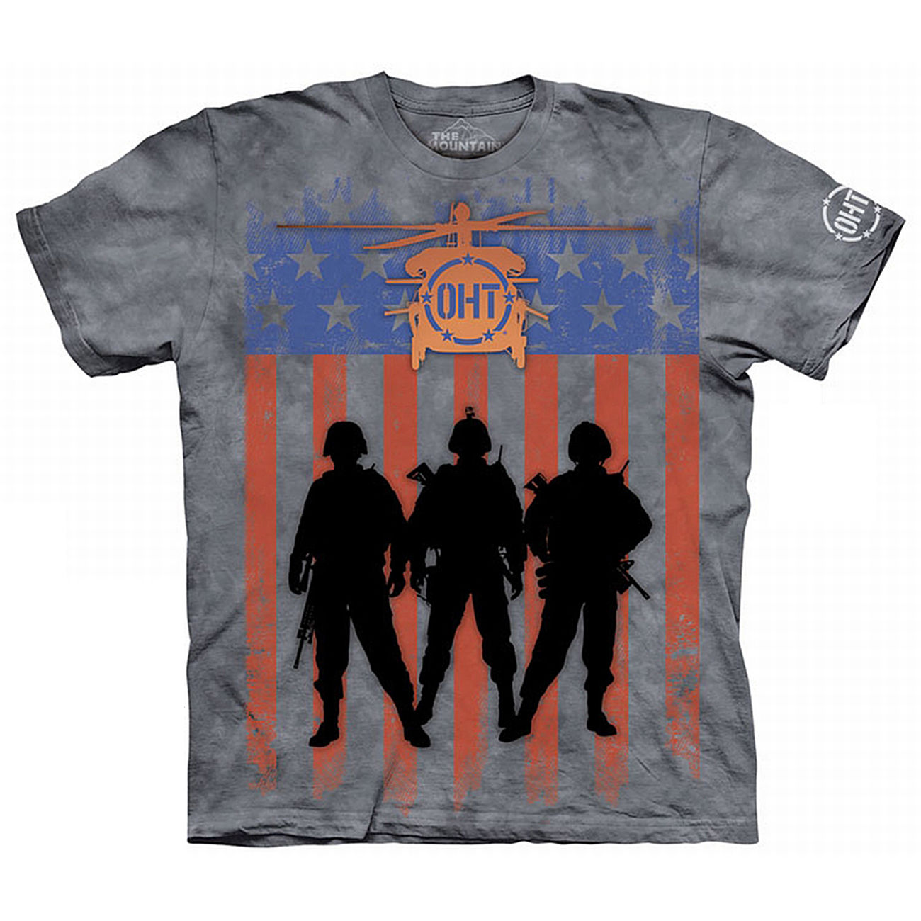 The Mountain T-Shirt Three Troops Oht-Hero 0
