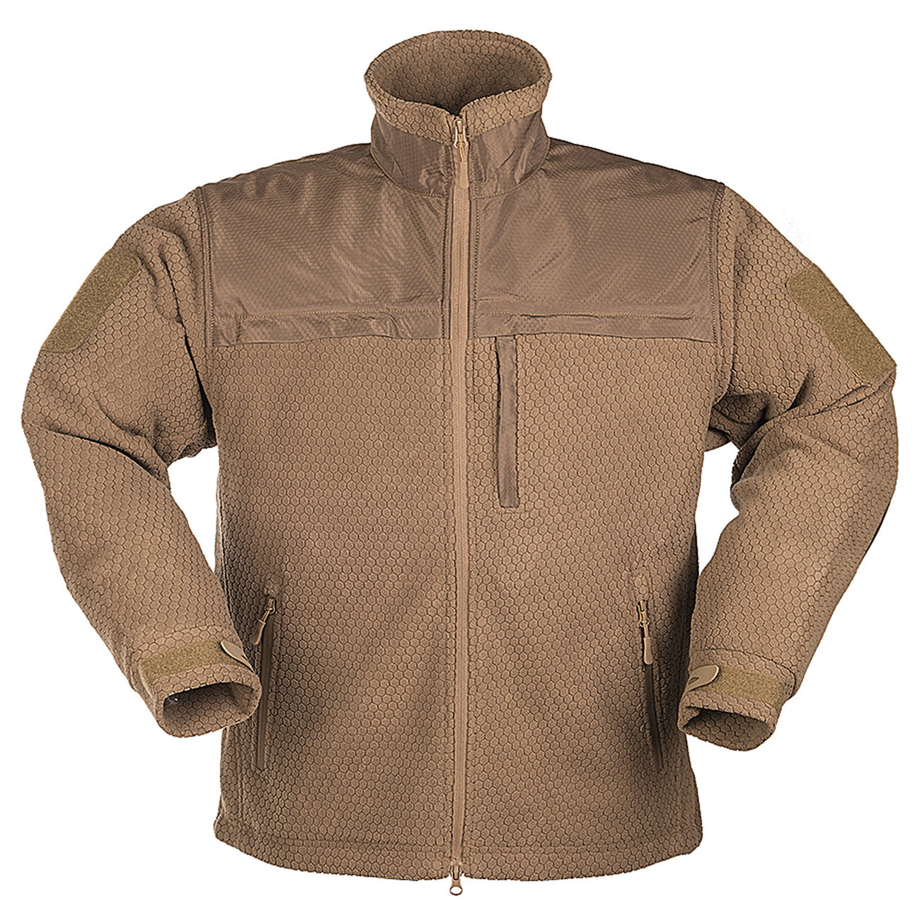 HexTac Fleecejacke Elite dark coyote 1