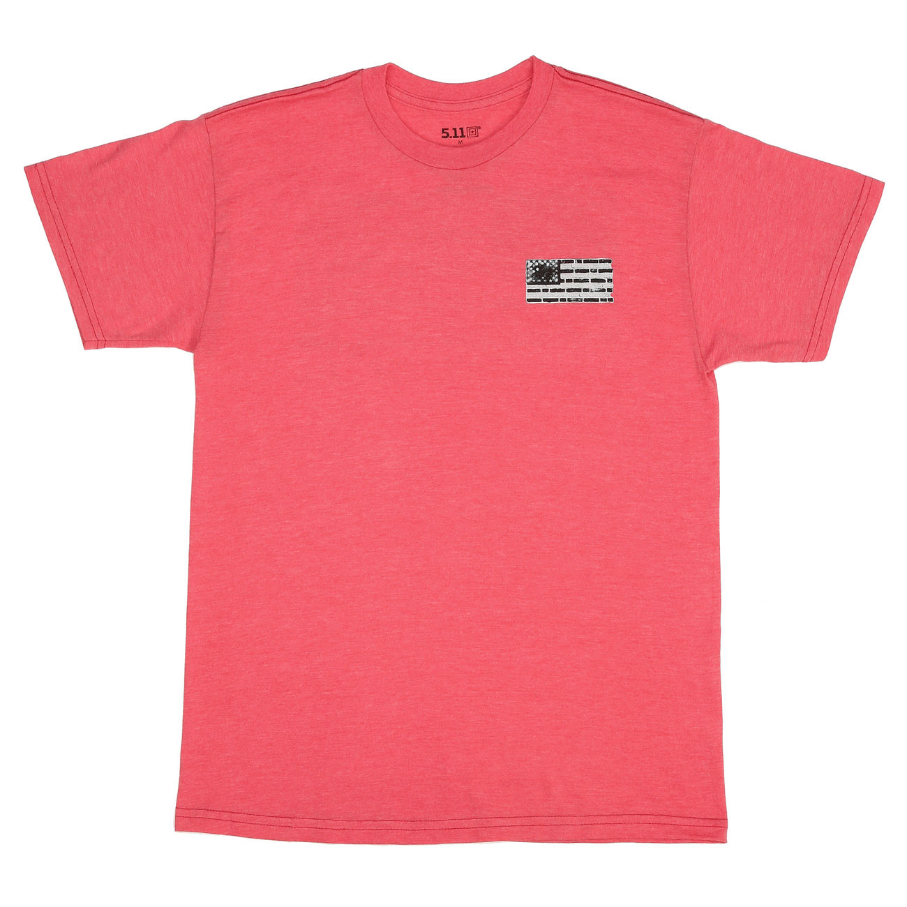 5.11 T-Shirt Bricks and Mortar Tee red heather 0