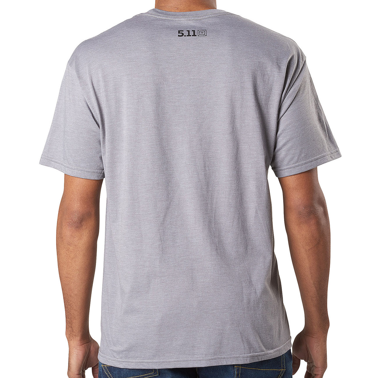 5.11 T-Shirt George Tactical Tee grey heather 1