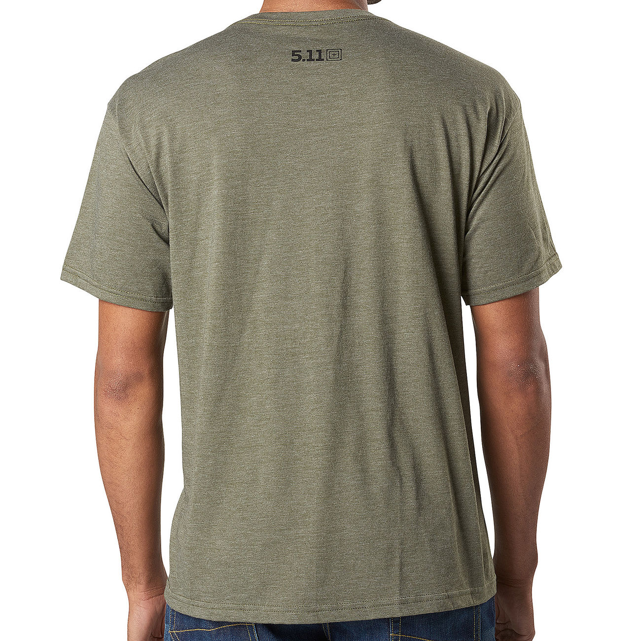 5.11 T-Shirt George Tactical military green heather 1