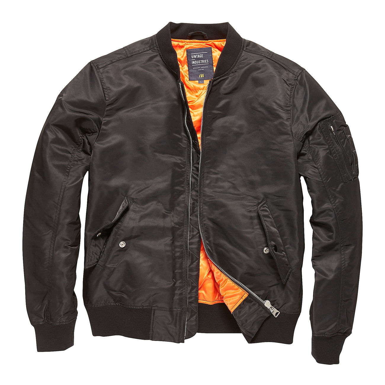 on sale 981ae f0af0 Vintage Industries Bomberjacke Welder schwarz