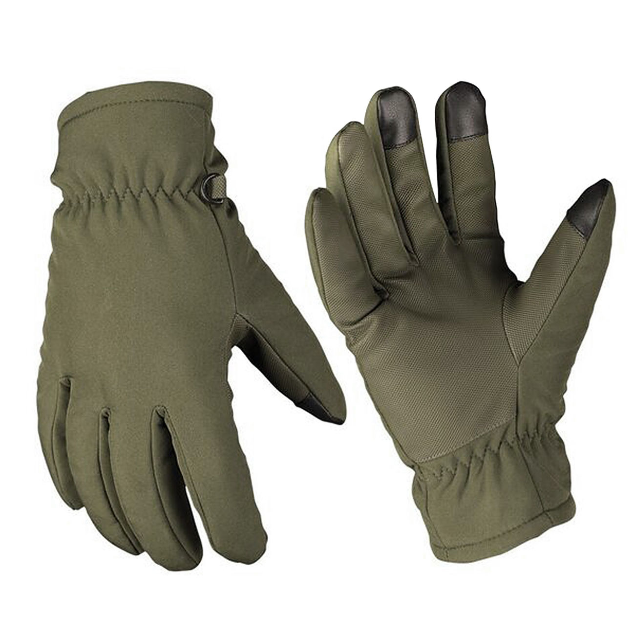 Mil-Tec Softshell Handschuhe Thinsulate oliv 0