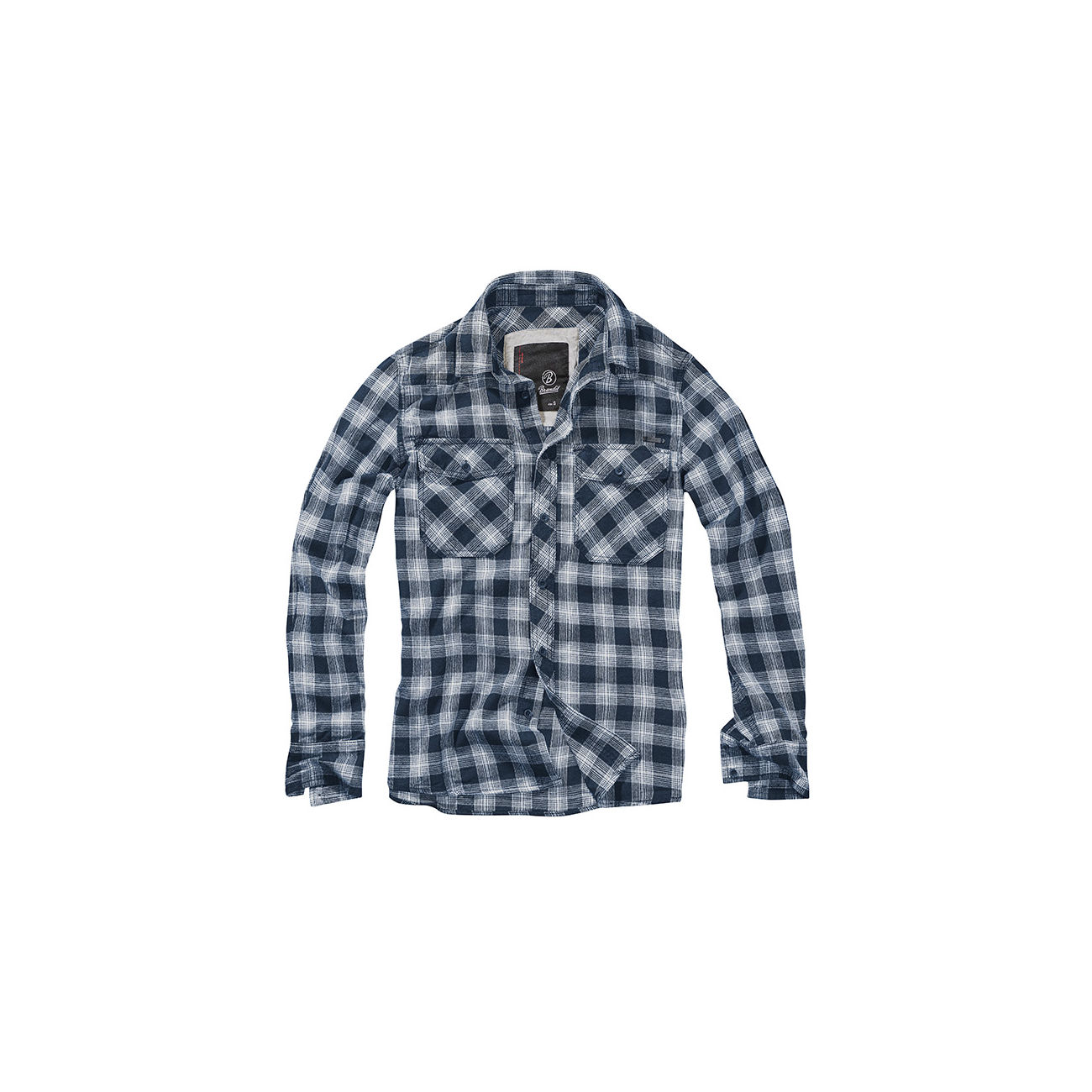 Brandit Hemd Great Creek Checkshirt indigo kariert 0