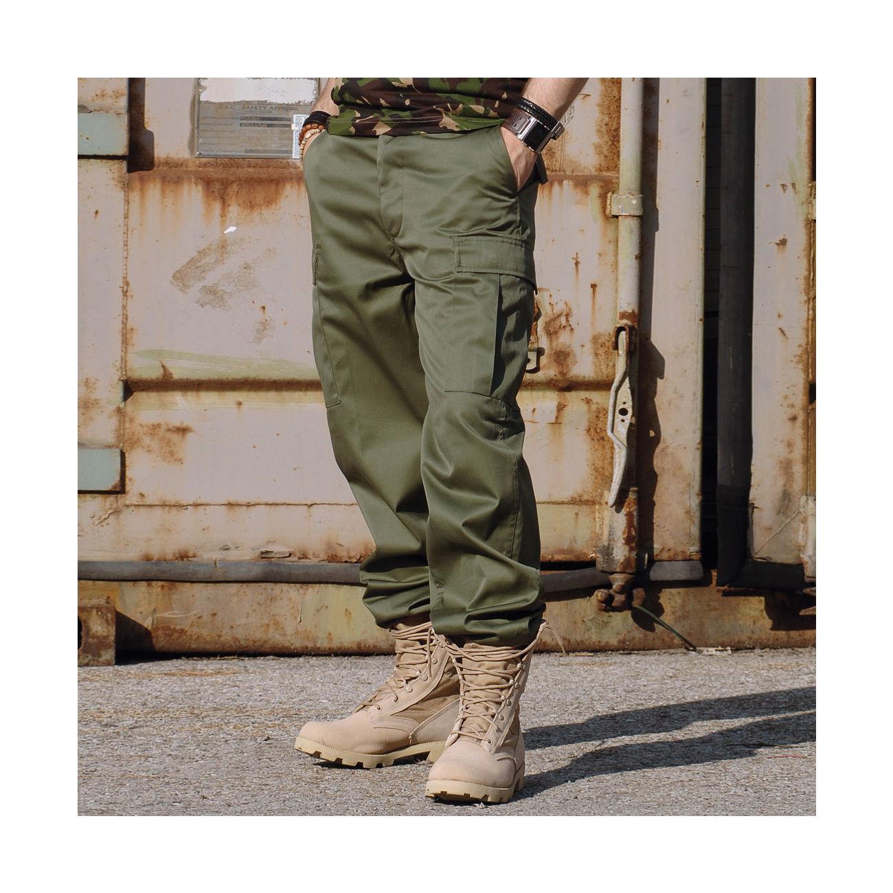 cac79827453b5e Mil-Tec Hose US Ranger Typ BDU oliv günstig kaufen - Kotte   Zeller