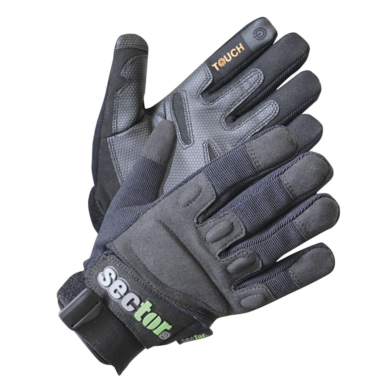 Security Vollfingerhandschuhe für Outdoor und Sport mit Protektoren Handschuhe
