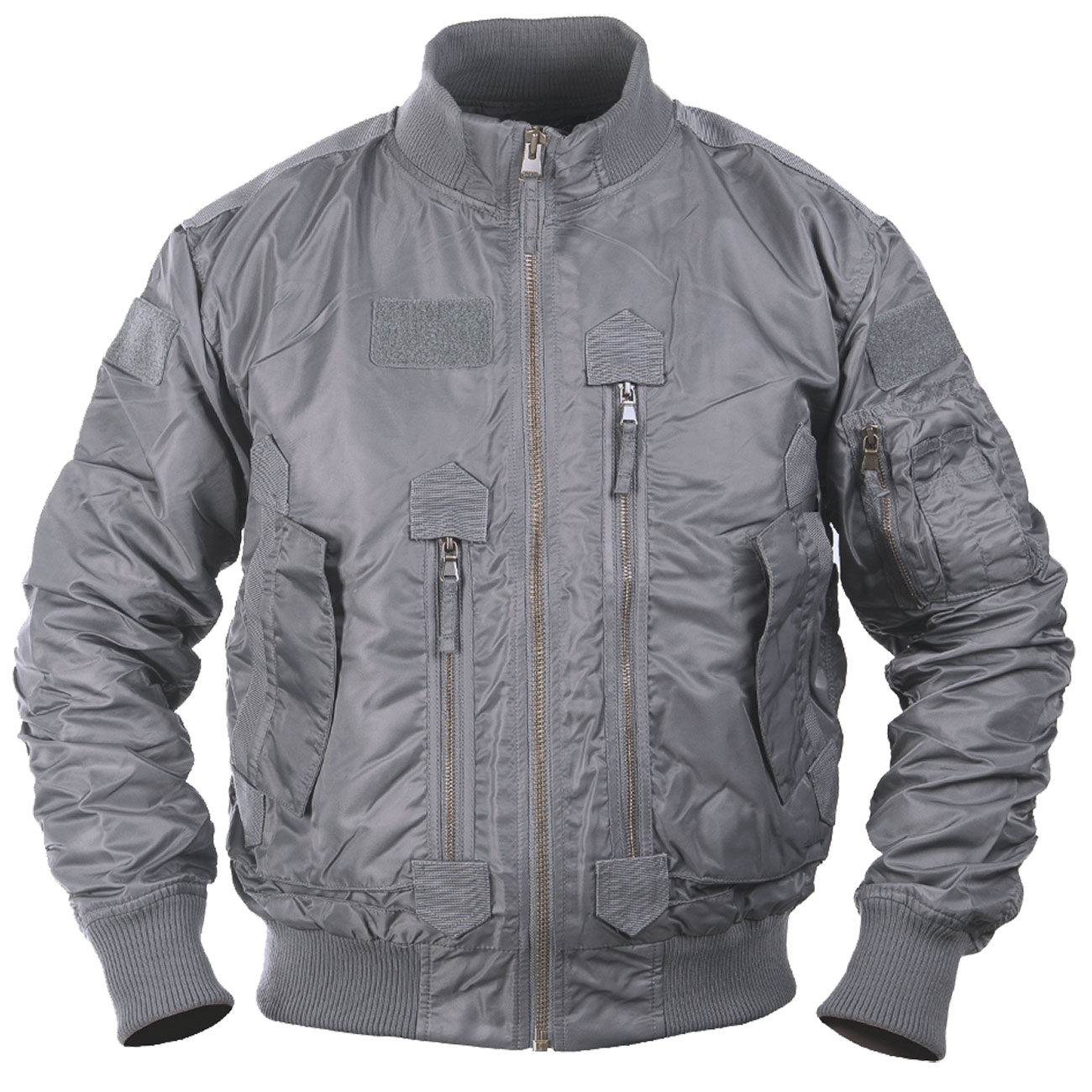 Mil-Tec US Tactical Fliegerjacke urban grey 0