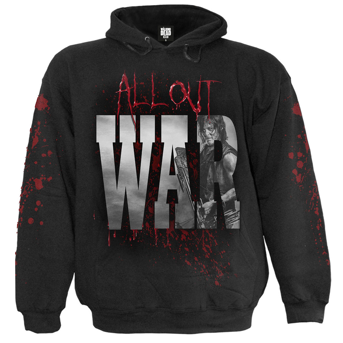 Spiral Kapuzenpullover The Walking Dead - All Out War 0